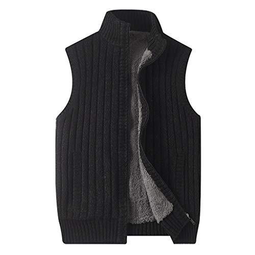 Houd warm LF- Katoen Vest Winter Heren Dikke Vest Mouwloos Jas Grote Size Multi-pocket Outdoor Vest Schouderjas Plus fluweel