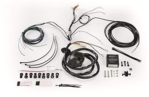 Westfalia 300210300113 Universele elektrische set trekhaken, voor trekhaken, 13-polig, voor voertuigen met Checkcontrol-systeem