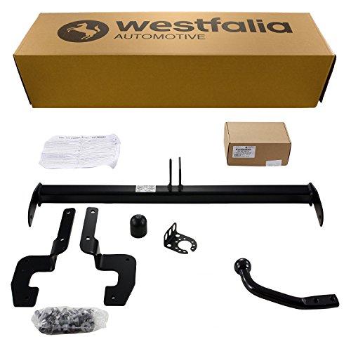 Westfalia starre trekhaak (2-gats Bock) voor Ford Tourneo Custom Kast/Combi (BJ vanaf 11/12), Transit Custom Kast/Combi (BJ 11/12-04/16) in set met 13-polige fzg.-spez. Westfalia Elektrische set