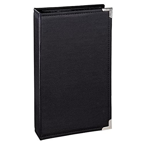 Hama Insteekalbum New York City, voor 300 foto's in het formaat 10 x 15, zwarte binnenzijden, 3 steekzakken per pagina, fotoalbum zwart