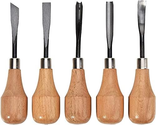 Werken Tool Hand Carving Beitels Carving Lepels Kommen Set DIY Gereedschap voor Draaibank Houtsnede