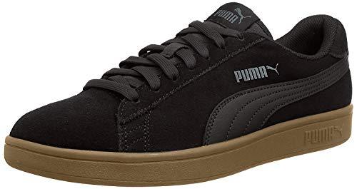PUMA Unisex Smash V2' sneakers, Puma Black Puma Black, 44 EU