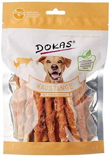 DOKAS Kauwstang - graanvrije premium kauwzak voor honden, 1 x 200 g, kippenborst, 1 x 200g