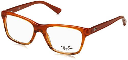 Ray-Ban 0RY 1536 3732 48 brilmontuur, bruin (Brown Striped Gradient),