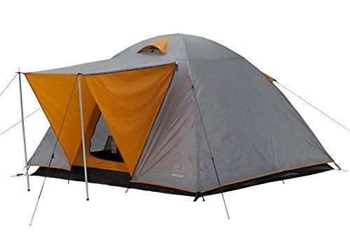 Grand Canyon Phoenix L – koepeltent (4 personen), grijs/oranje, 302016