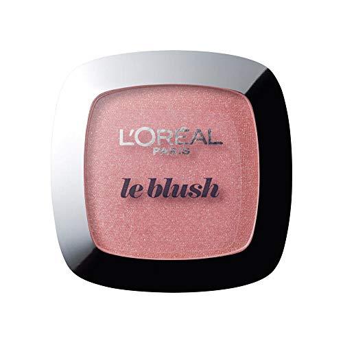 L'Oréal Paris Rouge Perfect Match Le Blush, 90 Luminous Rose / Discrete Matte Blush voor een frisse dagelijkse teint voor alle huidtypes, 1 x 5 g