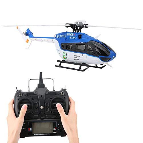 RC Helikopter, Gyro en 3D / 6G-modus 6-kanaals gevoelige minihelikopter Afstandsbediening 1106 11000KV Borstelloze motor Micro Elektrisch RC Vliegtuig Voertuig Speelgoed voor kinderen Volwassenen Binnen Buiten