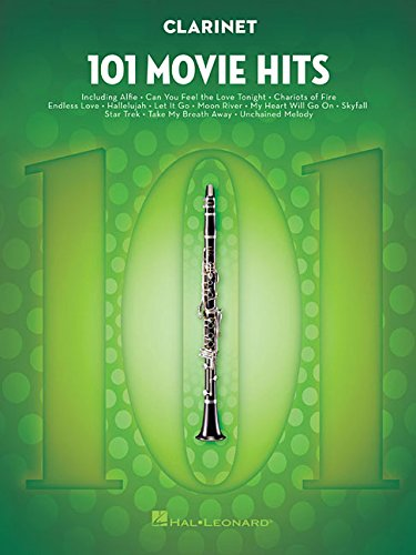 101 movie hits for clarinet clarinette