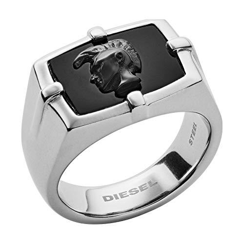 Diesel Heren piercing staal _roestvrij staal - DX1175040-10