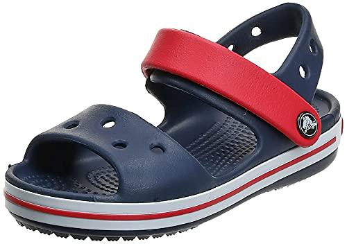 Crocs Crocband Kids Sandalen voor kinderen, uniseks, Blauw (Navy/Rood), 28/29 EU