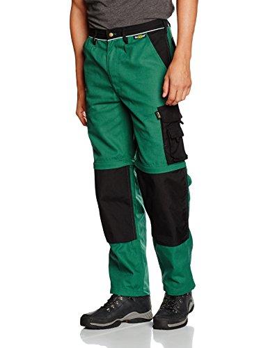 teXXor 2-in-1 werkbroek canvas 320 met cordura, versterkt groen 90, 20-008355-90