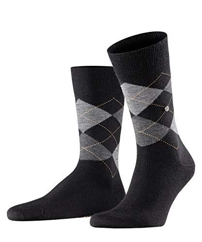 BURLINGTON Mannen Edinburgh Sokken - Virgin Wool Blend, Meerdere kleuren, UK maten 6.5-14 (EU 40-50), 1 Paar - Warm, tijdloos Argyle patroon, ideaal voor casual looks