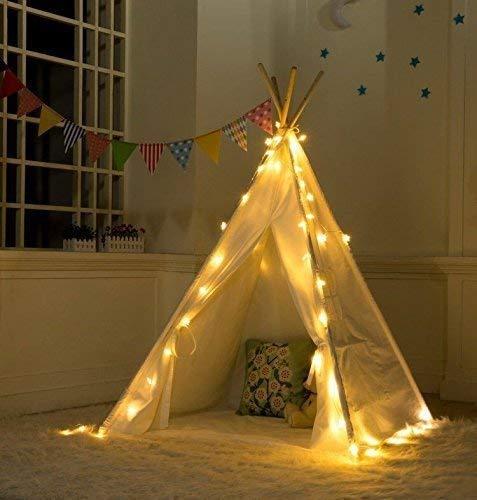 Vercico Fairy Lights Batterij Indoor Kids Slaapkamer LED Srings Verlichting voor Kids tipi Tent Kinderen Spelen Camping Tent Party Decoratie
