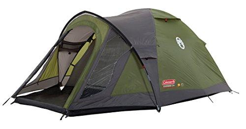 Coleman Darwin 3+ tent, 3 personen, iglotent, festivaltent, lichte koepeltent met voortent, waterdicht waterkolom 3.000 mm