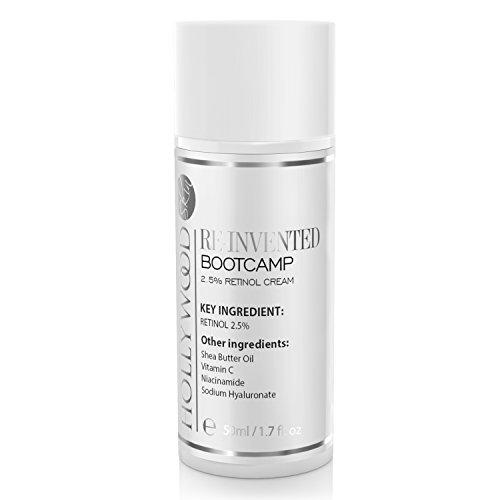 INTENSE Acne Crème - 2.5% Retinol!! Bootcamp – Acne behandeling voor 's nachts. 400% Sterker dan standard acne crèmes. 50ml Fles