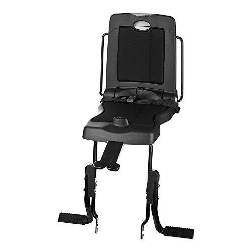 Bobike Unisex volwassenen kinderzitje Mini Exclusive fietsstoel achter, Urban Black, One Size
