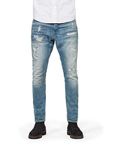 G-Star Raw D-Staq 3D Slim Jeans voor Heren, Slim Fit