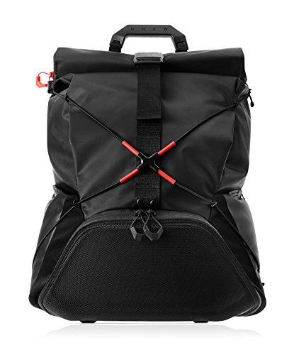HP OMEN X Transceptor rugzak, Ontworpen voor gamers, Bescherming in de pocket, 17 inch, Zwart, 3KJ69AA