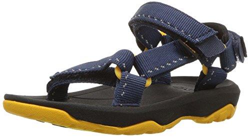 Teva Hurricane XLT 2 Kids Slingback sandalen voor jongens, Blauw Speck Navy Sknv, 19 EU