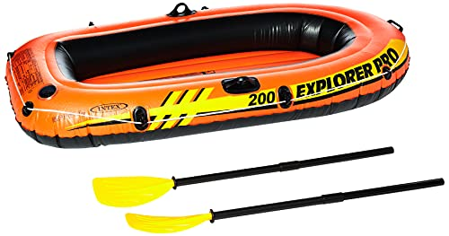 Intex Explorer Pro 200 Boot set + peddels en pomp