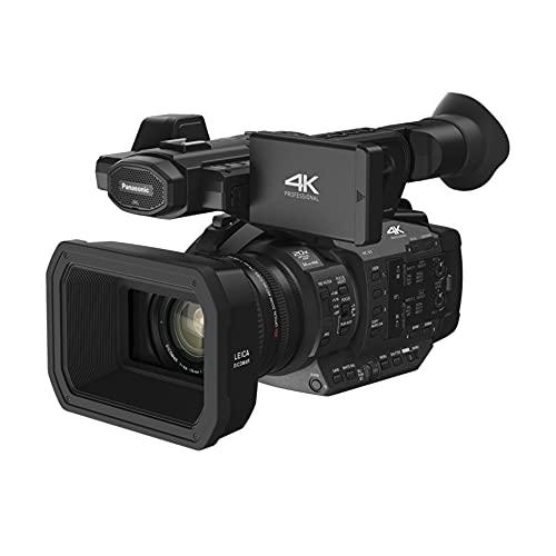 Panasonic HC-X1E professionele camcorder (4K 24p, UHD 60p/50p, FHD 60p/50p, 24mm LEICA Dicomar lens, OLED-zoeker, 8,9 cm Wide LCD, geïntegreerde ND-filter, 2 XLR-ingangen, 2 SD-slots) zwart