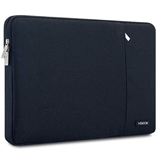 HSEOK Laptop Sleeve 15,6 Inch Case Bag Waterafstotend beschermhoes Compatibel met de meeste 15,6