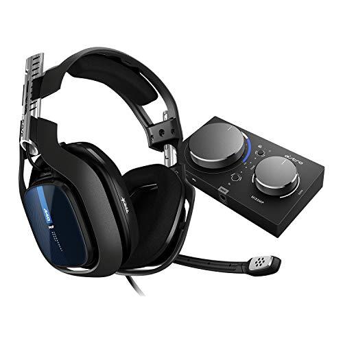 ASTRO Gaming A40 TR headset (bekabeld) + MixAmp Pro TR (3de generatie) adapter (met Dolby 7.1 surround sound, compatibel met PlayStation 4, PC, Mac) zwart