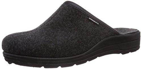 Gevavi 7828 Pantoffels voor heren, Zwart Zwart Zwart Zwart 00, 42 EU