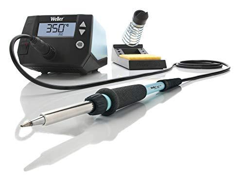 Weller Professional WE 1010 Digitale 1-Kanaals Soldeerstation, 70 W/230 V, Temperatuurbereik 100 °C - 450 °C, Blauw