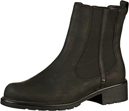 Clarks Orinoco Club dameslaarzen, zwart (black leather), 37 EU
