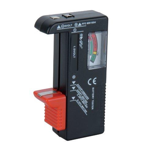 UNITEC 46021 Universele accutester 1,5 V/9 V