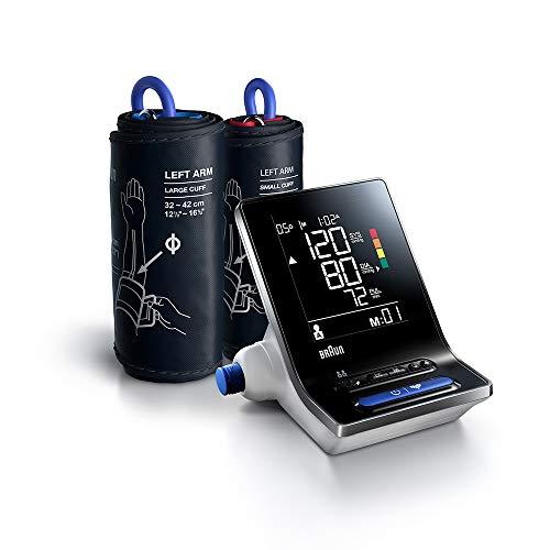 Braun ExactFit 3 BUA6150WE bloeddrukmeter voor de bovenarm voor thuis met twee manchetmaten,