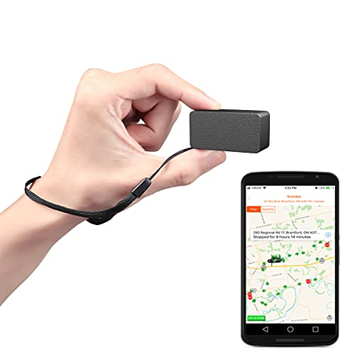 LMHOME mini GPS Tracker for Vehicles, Real Time Small GPS Tracking Device Locator for Car,Kids GPS Service Locator, Real-Time Teen Driving Coach, GPS Tracking & Vehicle Monitoring System