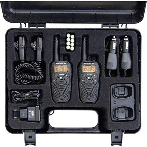 Stabo Elektronik 20701 Freecomm Professionele PRM 446 Radio-Apparaat, Zwart, Set Van 2