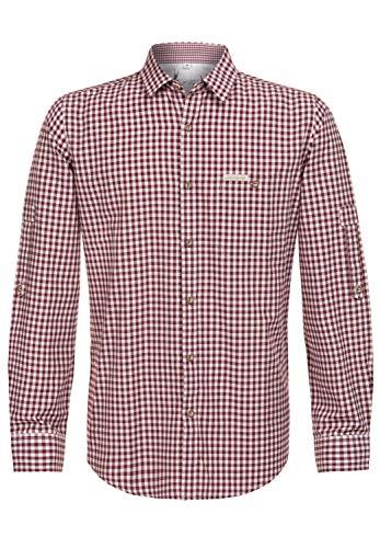 Stockerpoint Klederdrachthemd voor heren, rood, L