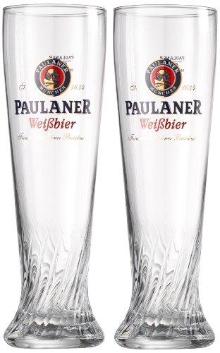 Paulaner Bierglas, 0,5 L, Set Van 2