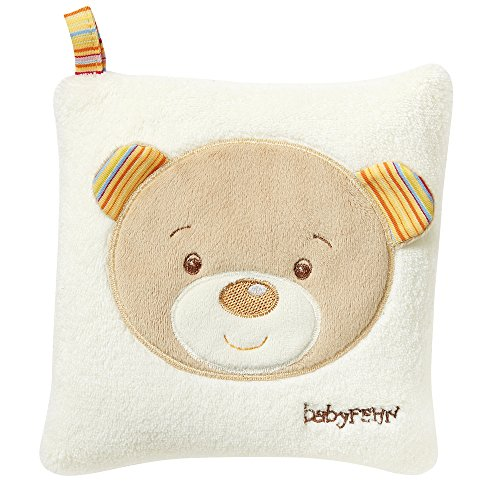 Fehn kersenpitkussen - warmte- en koudekussen in schattig design voor baby's en peuters vanaf 0+ maanden Teddy, Rainbow Teddy, Rainbow