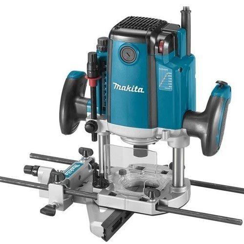 Makita RP2300FCX Elektronische bovenfrees 2300W 9000-22000 omw/min tang 12 mm, 6,1 kg, 2,3 W, blauw 0
