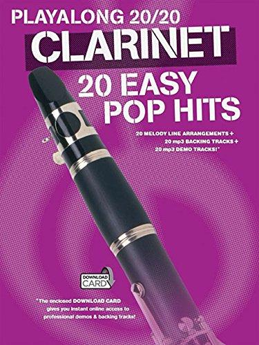 Hal Leonard Publishing Corporation: Playalong 20/20 Clarinet: 20 Easy Pop Hits