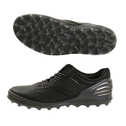 ECCO Golf Cage Pro Golfschoenen voor heren, zwart 1001 zwart, 45 EU