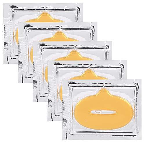 5st Lip Mask, Anti Aging Lip Mask, Collagen Crystal Mask Set Lip Repair Behandeling Slapen Lippenbalsem Lip Primer Lip Scrub voor Lipverzorging