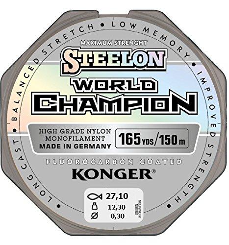 Konger Vislijn World Champion fluorocarbon gecoat 0,10-0,30 mm/150 m monofile-snoer super sterk! (0,25 mm/8,70 kg)