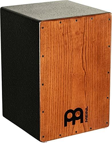 Meinl Percussion Headliner Cajon Instrument/trommel voor kinderen en volwassenen, trommelkist (drumbox) met snare en diepe basgeluid, geen cajon bouwpakket, American White Ash frontplaat (HCAJ1AWA)