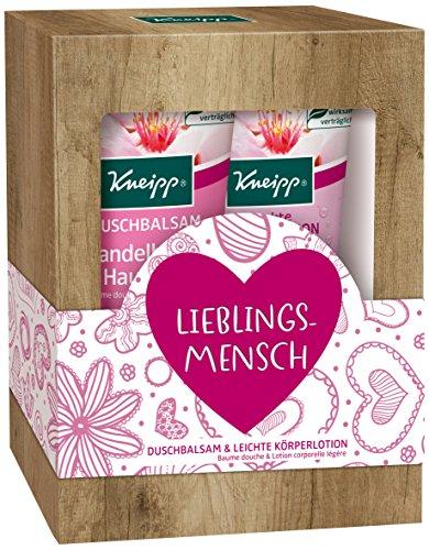 Kneipp Geschenkverpakking Lieblingsmensch amandelbloesems Hautzart, 2 x 200 ml