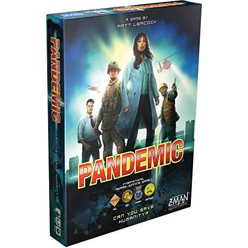 Pandemic 2nd edition - Strategisch bordspel - Vernieuwde uitgave van het spannende bordspel Pandemic! -Voor volwassenen - Taal: Engels