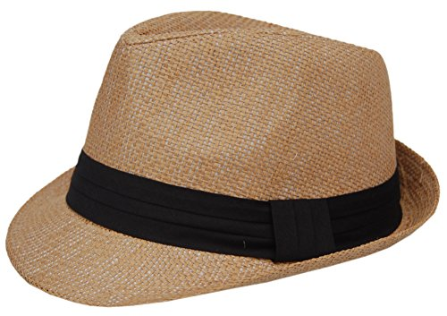 Cool4 Trilby strohoed zand zomer strohoed cap cap cap zonnehoed strand SH02 (59)