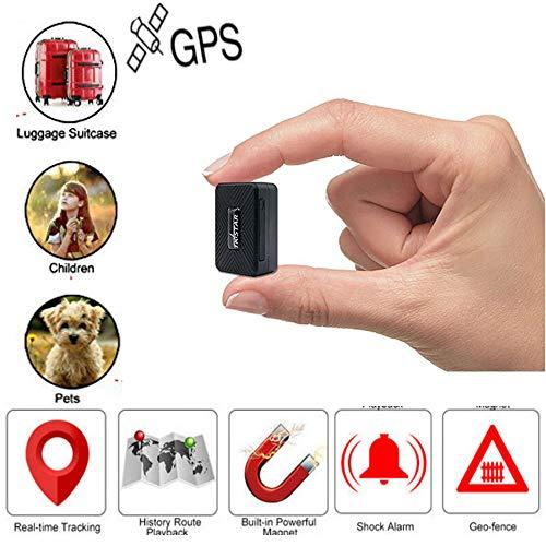 Winnes Mini GPS Tracker Anti Verloren Anti Diefstal Tracker Apparaat voor Jonge geitjes/Ouderen/Portemonnee/Bagage
