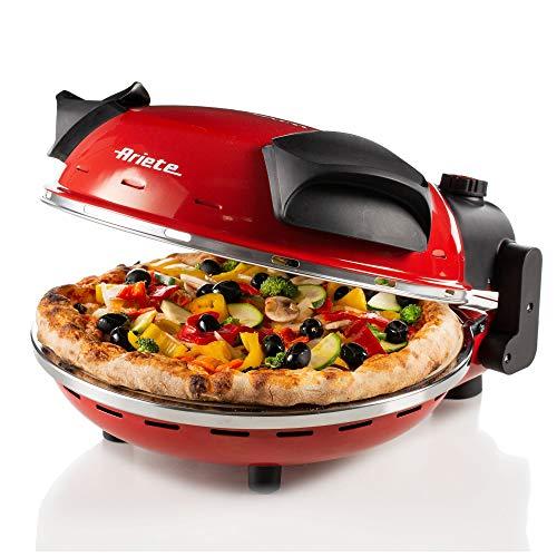 Ariete 909 Machine voor het maken van Pizza Party da gannaro-909, rood