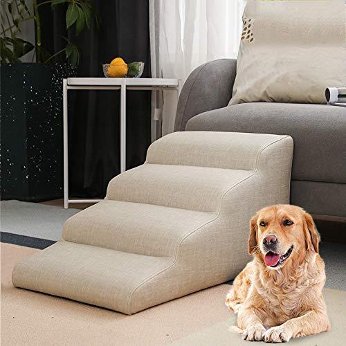 Hondentrap in 3 maten, kattentrap, huisdiertrap, honden katten huisdieren, voor bed en auto, opstapladder, afneembare huisdiertrappen voor hond en kat, 4 lagen