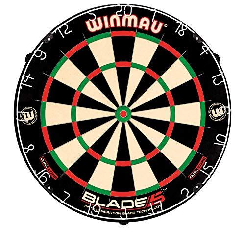 Winmau Blade 5 Dual Core Professioneel Bristle Dartbord